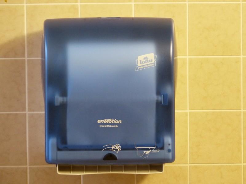 Praktiske og hygiejniske håndtørrere i flot design til favorable priser